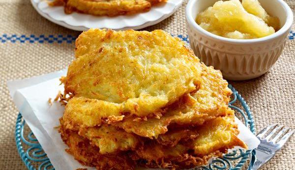 2 kartoffelpuffer