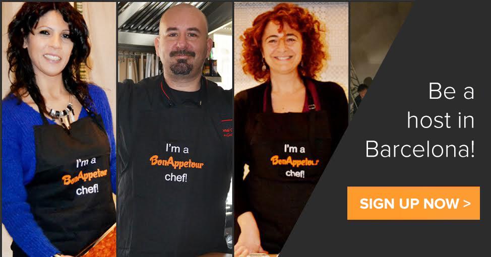 Be a BonAppetour Host in Barcelona