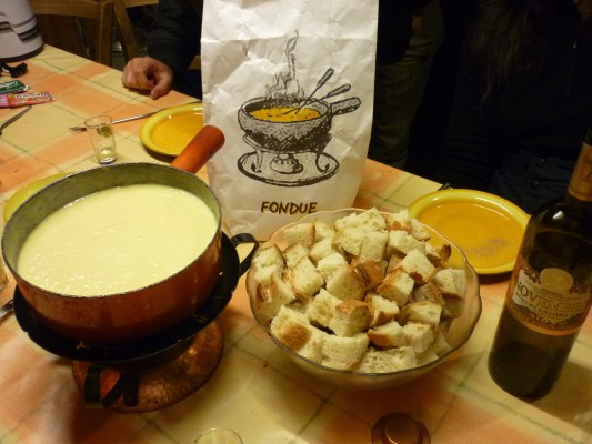 Take a Swiss in the Fondue
