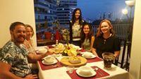 Jazmyn & her guests