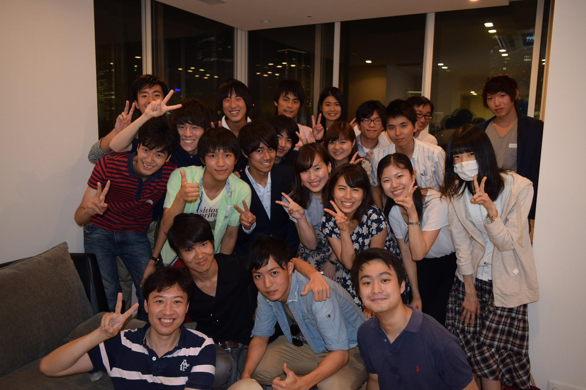 Exchange meeting with my japanese friends nice roppongi for Friend in japanese