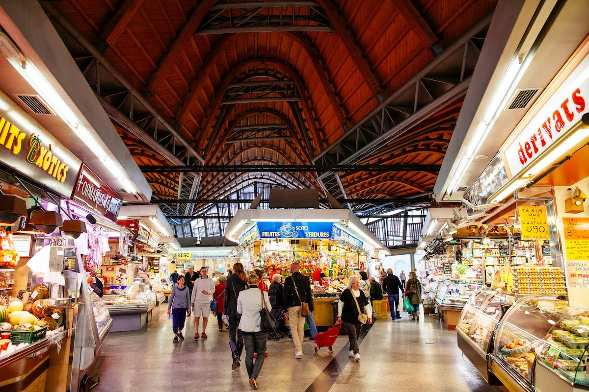 Foodies on Foot: Santa Caterina Market Tour & Lunch in Barcelona in Barcelona