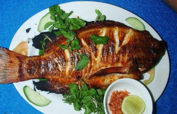 Natural khmer dining a phnom penh cambodia for A taste of cambodian cuisine