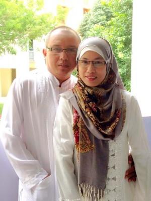 Raja Mohamad Aris & Alizah Abdullah