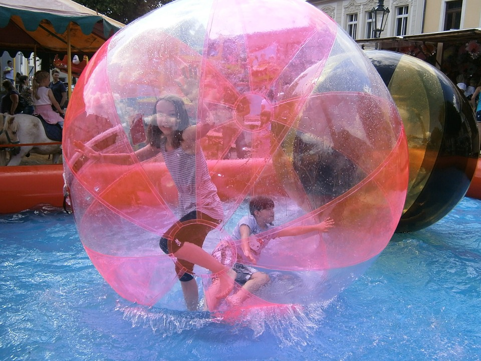 Pilgrimage Zorbing Sphere Game Pleasure